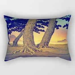 Domi's Heart at Sunset Rectangular Pillow