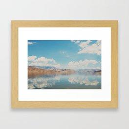 beautiful reflections ... Framed Art Print
