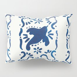 Bluebird of Happiness Pillow Sham
