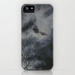 Inneres Unwetter (Inner storm) iPhone Case
