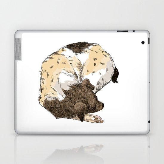 Sleeping Dog #002 Laptop & iPad Skin