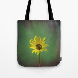 The yellow flower of my old friend Tote Bag