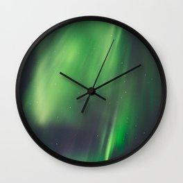 Aurora Borealis 4 Wall Clock