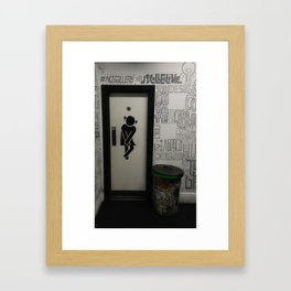 Ladies Don't Need An Explanation Framed Art Print
