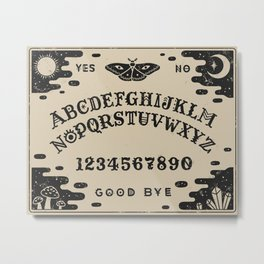 Spirit Board Metal Print