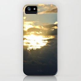 Sun Peek iPhone Case