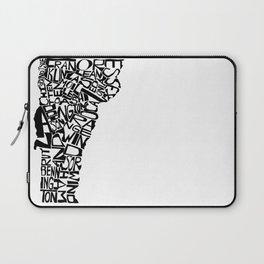 Typographic Vermont Laptop Sleeve