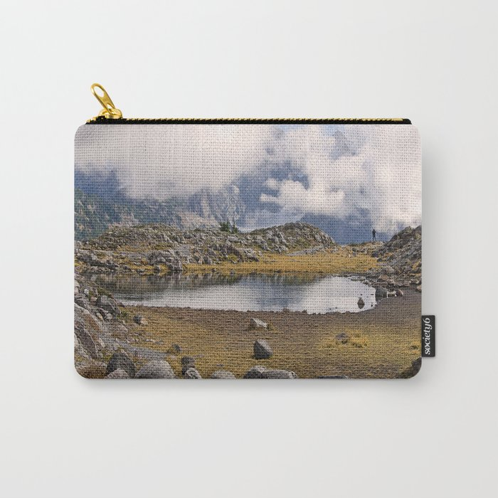 BLUE AND GOLD MOUNTAIN SOLITUDE Carry-All Pouch