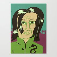 snape Canvas Prints featuring Snape by Arlin Ortiz