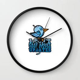 I Got Your Tweet Right Here Wall Clock