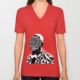 Jairon Brown - Black Lives Matter - Series - Black Voices Unisex V-Neck