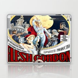 Vintage Flesh Gordon Laptop & iPad Skin