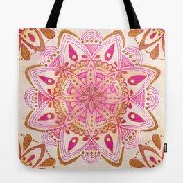 Simple Gold Madala Tote Bag