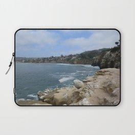 San Diego Coastline Laptop Sleeve