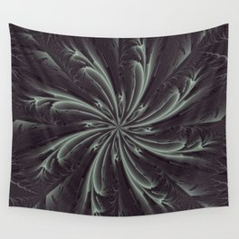 Out of the Darkness Fractal Bloom Wall Tapestry