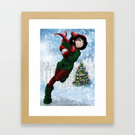Let it snow Framed Art Print