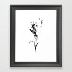 Introspection II Framed Art Print