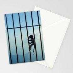 India - Monkey bars Stationery Cards