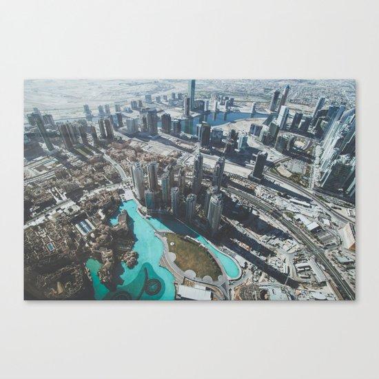 Dubai Canvas Print