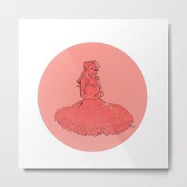Lua Klein Metal Print