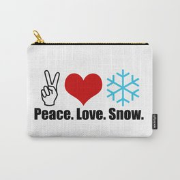 Love Snow Carry-All Pouch