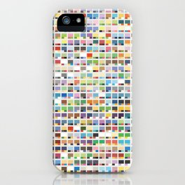 Complete Poke-Pantone  iPhone Case