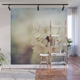White Poppy Grudge Wall Mural