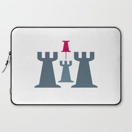 Your Middle Tower is under attack! Laptop Sleeve