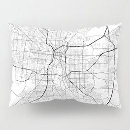 San Antonio Texas Street Map Pillow Sham