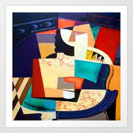 Maria Blanchard Seated Woman Art Print