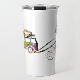 Cute Car Fabric art Travel Mug