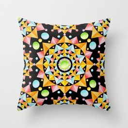 Fiesta Confetti Throw Pillow