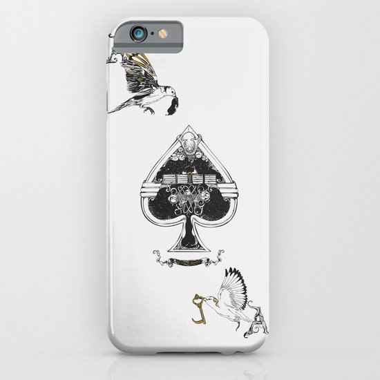 The ace of spades iPhone & iPod Case