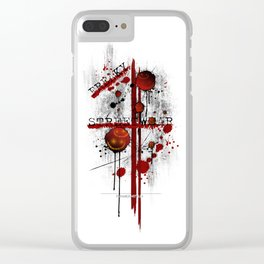 Freaky Streetw(e)ar Clear iPhone Case