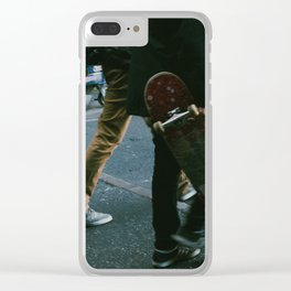 Skaters in Waterloo, London Clear iPhone Case