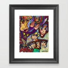 The Reunion Framed Art Print