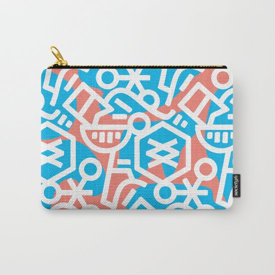 Never Not Hungry Carry-All Pouch