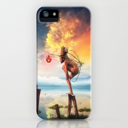 Le Gran Finale iPhone Case