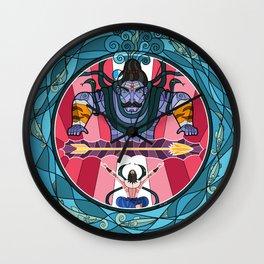 Arjuna's Penance Wall Clock