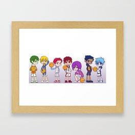 Kuroko no Basket Framed Art Print