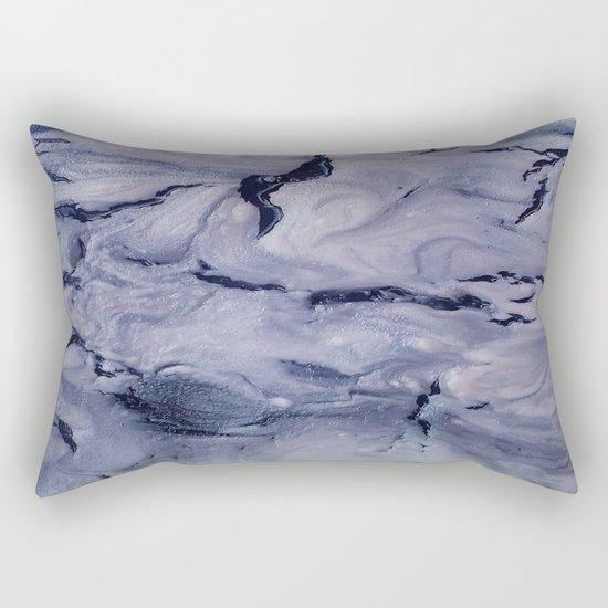 gray marble Rectangular Pillow