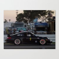 porsche Canvas Prints featuring Porsche by Trackography