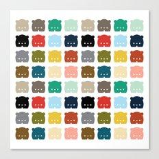 Bears, Bears, Bears Canvas Print