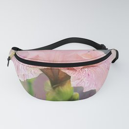 Lovely Pink Iris Fanny Pack