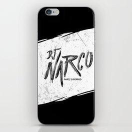 DJ Narco iPhone Skin