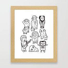 everyday heroes Framed Art Print