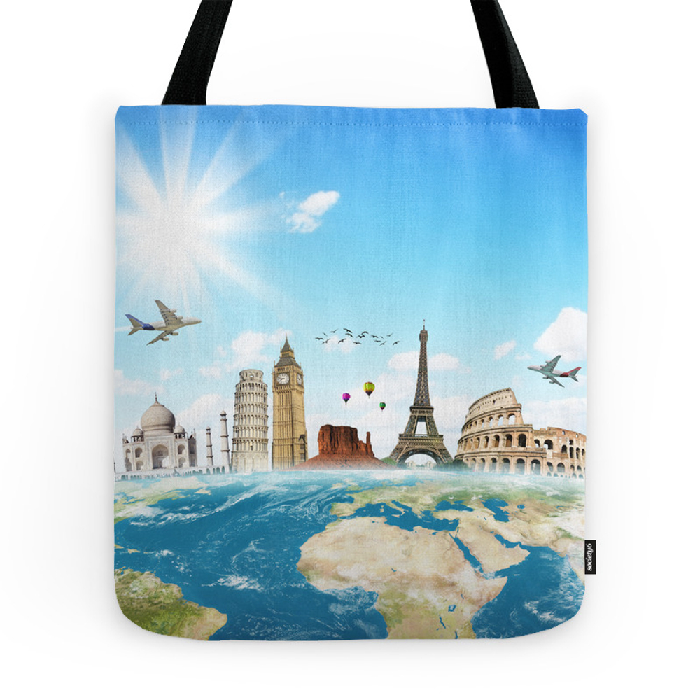 New York City Tote Purse by normadsartstudio (TBG7656497) photo