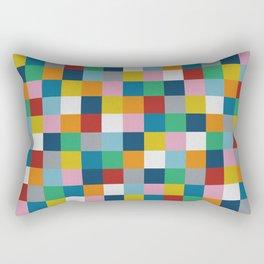 Colour Block #2 Rectangular Pillow