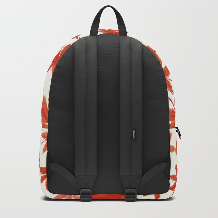 red maple leaves pattern Backpack