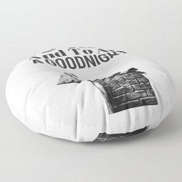 Shirley Temple Christmas Floor Pillow
